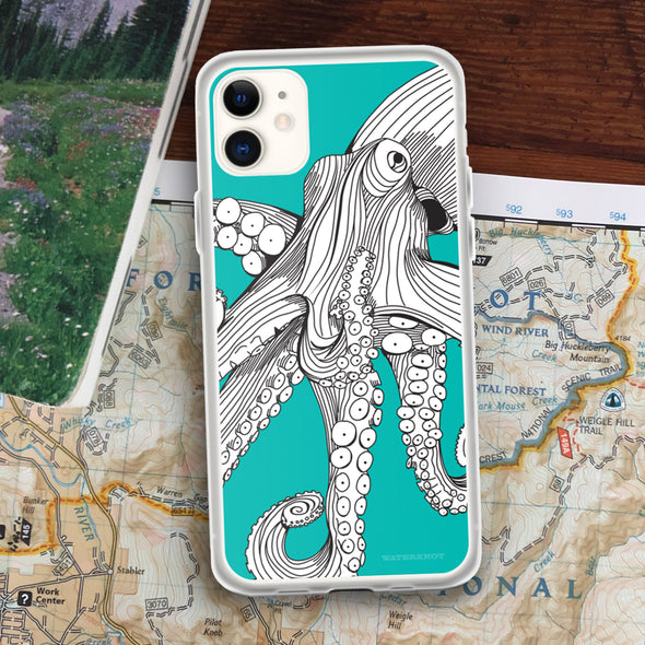 Octopus iPhone Case - Slim