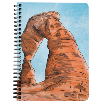 Delicate Arch Wire Bound Journal