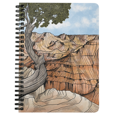 Canyon Tree Wire Bound Journal