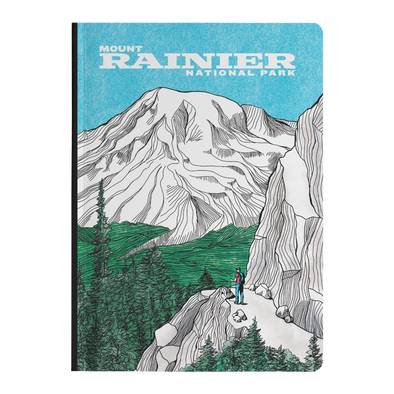 Mount Rainier Softcover Journal
