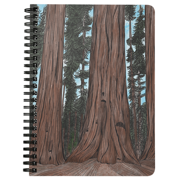 Big Trees Wire Bound Journal