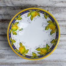 Load image into Gallery viewer, Large serving bowl (30cm) - Lemon