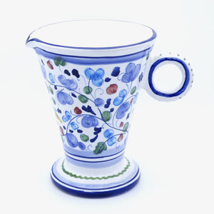 Arabesco light blue - jug 18cm
