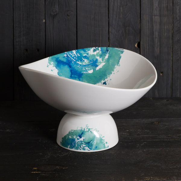 'Hands' bowl - medium (16cm x 28cm) - Acquerello