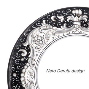 3 piece dinner set (1 dinner plate, 1 bread plate & 1 soup bowl) - Nero