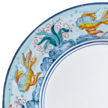 Load image into Gallery viewer, 12 piece dinner set (4 dinner plates, 4 bread plates & 4 soup bowls) - Marine