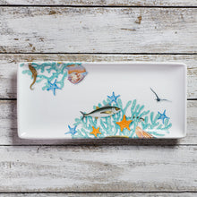 Load image into Gallery viewer, Rectangular tray - large (15cm x 33cm) - Love Sea