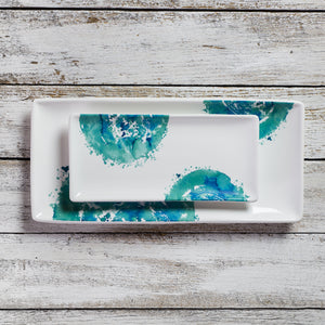 Rectangular tray - small (11cm x 23cm) - Acquerello