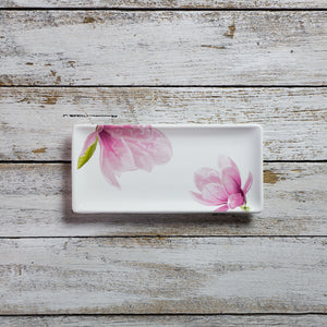 Rectangular tray - small (11cm x 23cm) - Magnolia