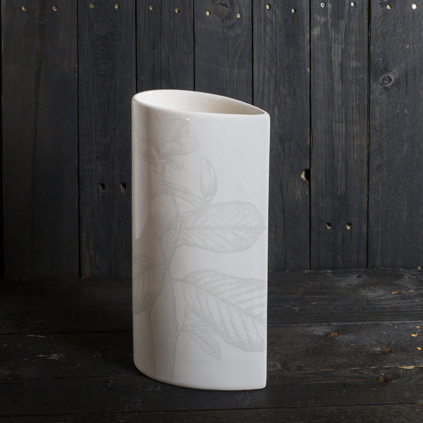 'Simple' vase - medium - All White