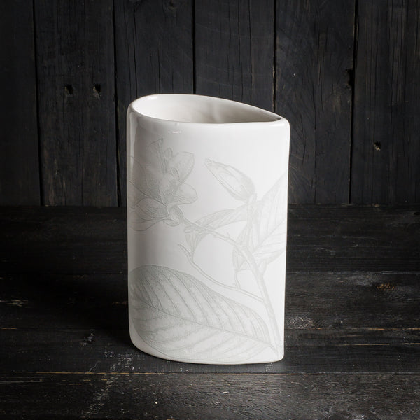'Simple' vase - small - All White