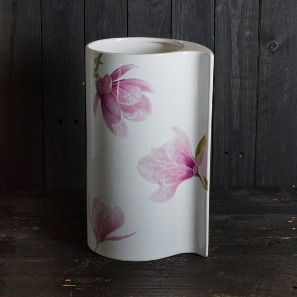 'Virgola' vase - medium - Magnolia