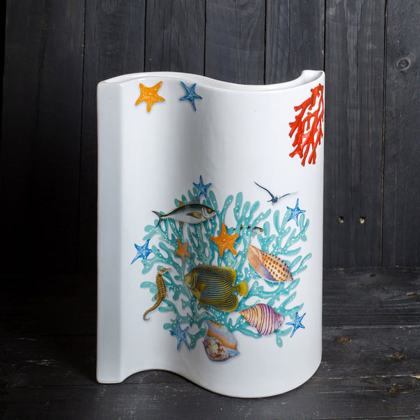 'Wave' vase - large - Love Sea