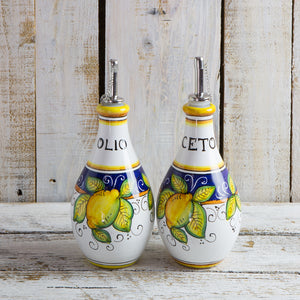 Vinegar Bottle (16cm) - Lemon