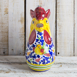 Rooster jug - Arabesco colourful - 1 litre