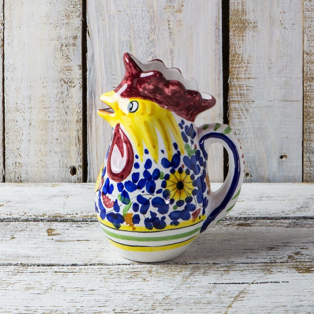 Rooster jug - Arabesco colourful - 250ml