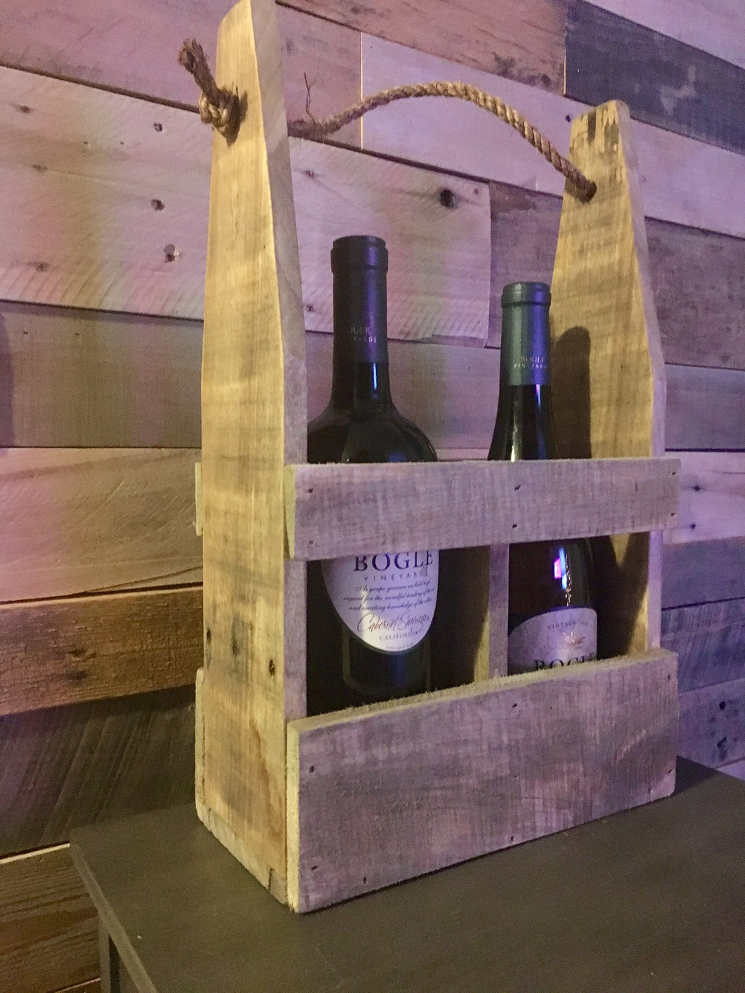 Wine Caddy, Reusable Wine Gift Carrier, Wine Holder
