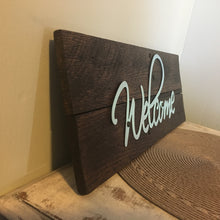 Welcome Sign..Rustic Wood Signs