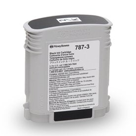 Genuine Pitney Bowes 787-3 Black Ink for SendPro P3000 Mailing Systems