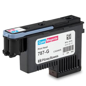 Genuine Pitney Bowes Cyan/Magenta 787-G Printhead for the SendPro P and Connect+ Series Mailing Systems