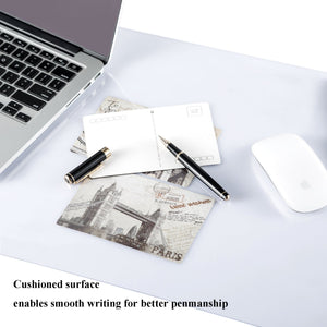 ETECHMART Clear PVC Office Desk Pad Writing Mat