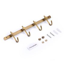 ETECHMART Coat Rail Hooks Rack Wall Mounted