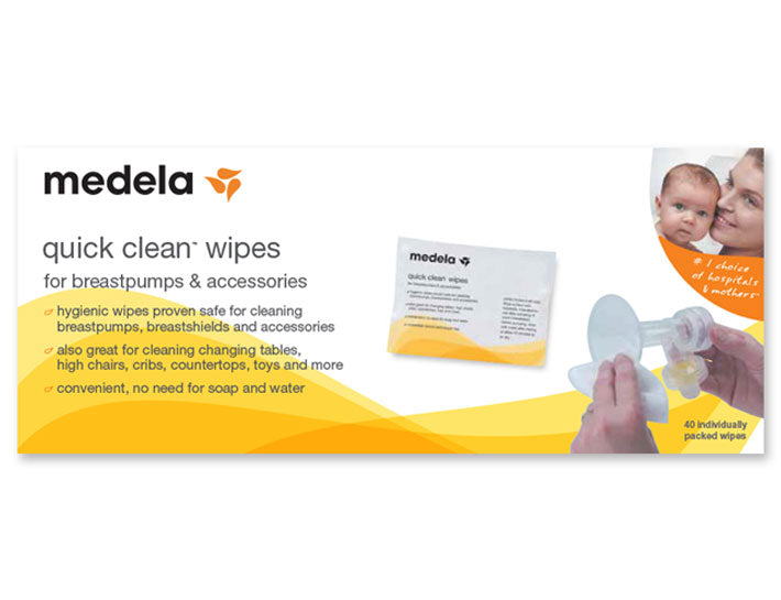 Medela - Quick Clean Wipes