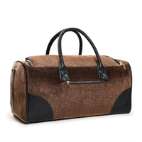 Rust Brown Fridge Pony Fur Travel Set