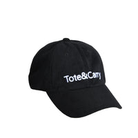 Tote&Carry Black Corduroy Dad Cap