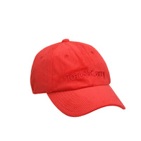 Tote&Carry Red Corduroy Dad Cap