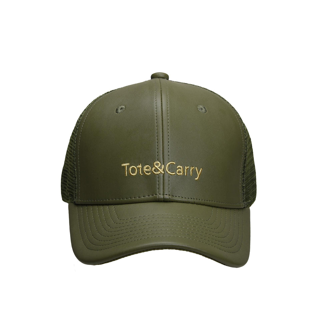 Tote&Carry Olive Green Trucker Cap