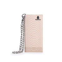 Beige Apollo Biker Chain Wallet
