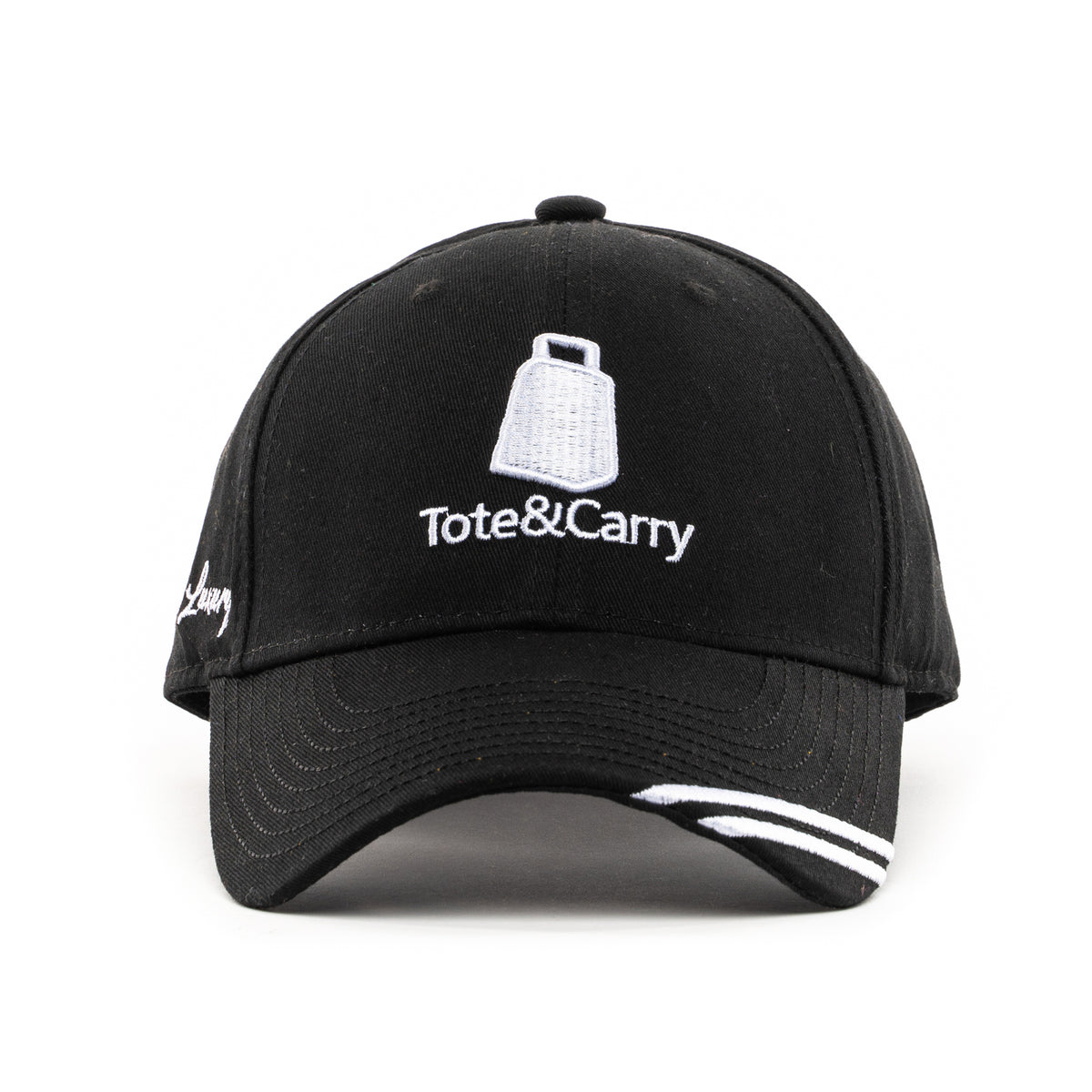 Tote&Carry Black Curved Baseball Cap - Tote&Carry