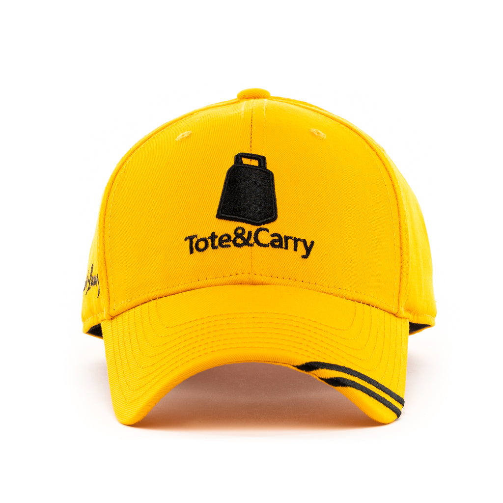 Tote&Carry Mustard Curved Baseball Cap - Tote&Carry