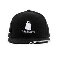 Tote&Carry Black Baseball Cap Snapback - Tote&Carry