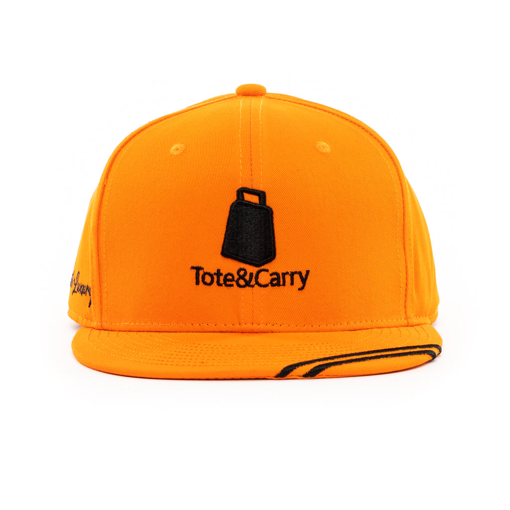 Tote&Carry Orange Baseball Cap Snapback - Tote&Carry