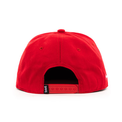 Tote&Carry Red Baseball Cap Snapback - Tote&Carry