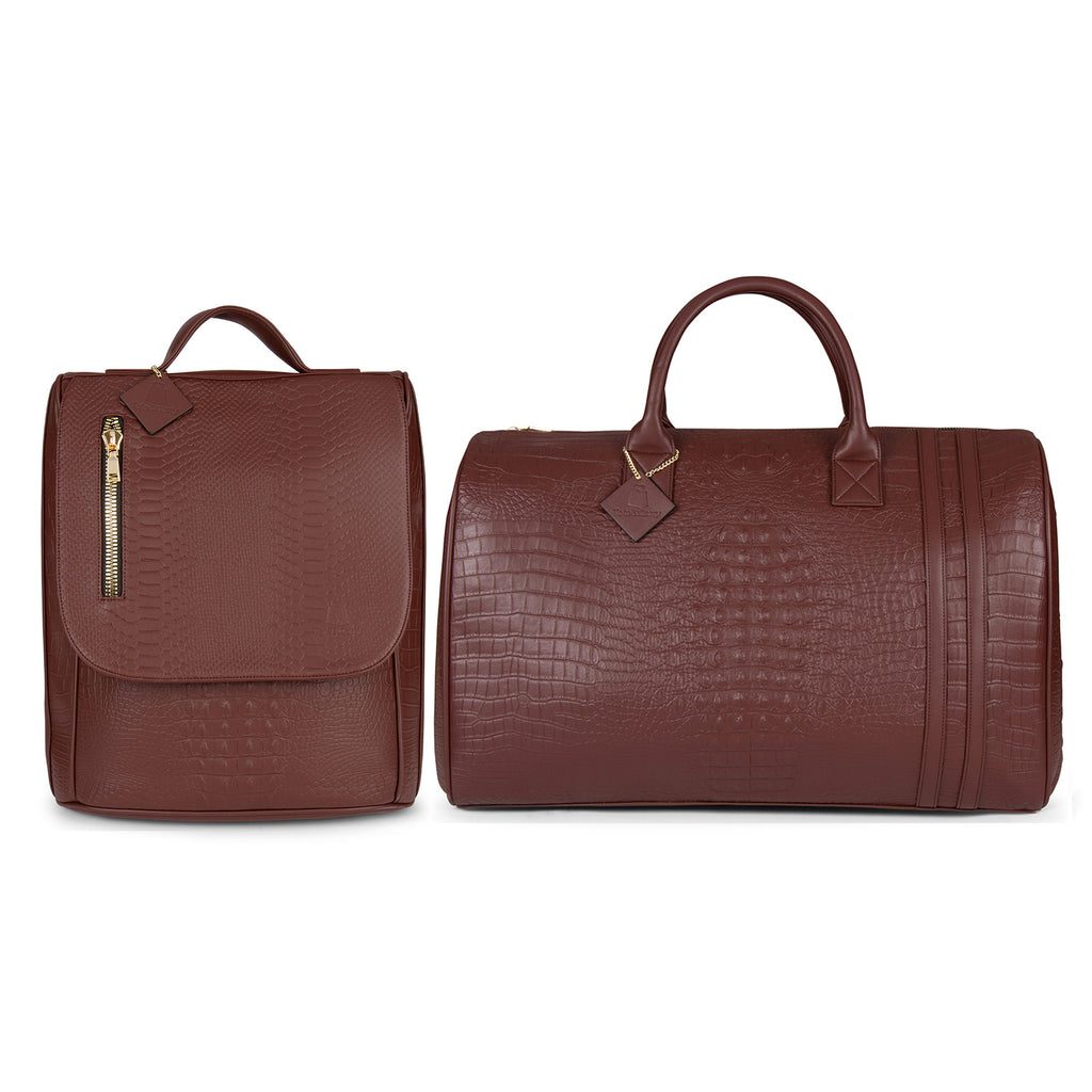 Brown Apollo II Travel Set