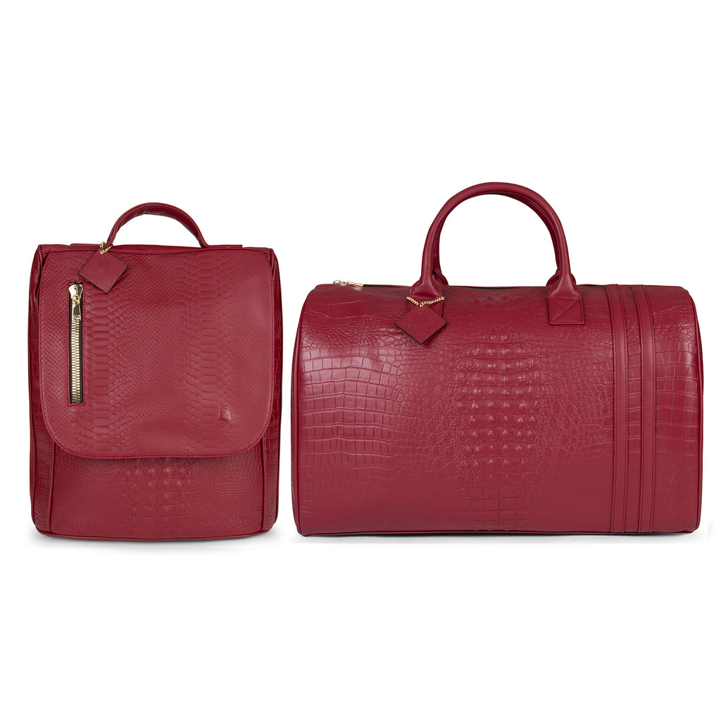 Burgundy Apollo II Travel Set
