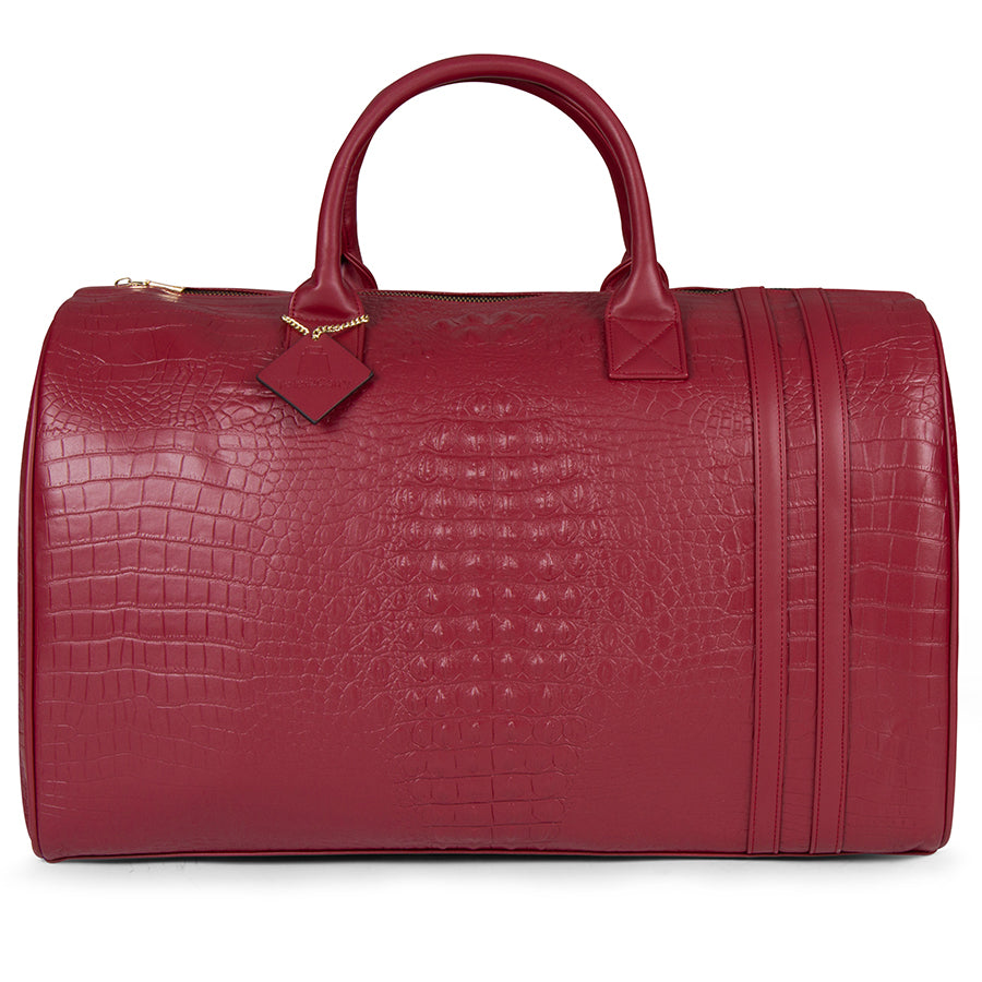 Burgundy Apollo II Duffle