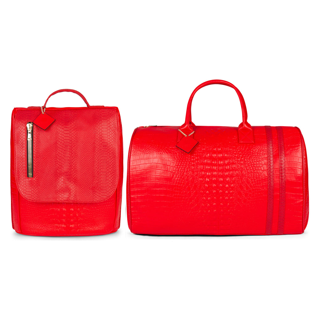 Red Apollo II Travel Set
