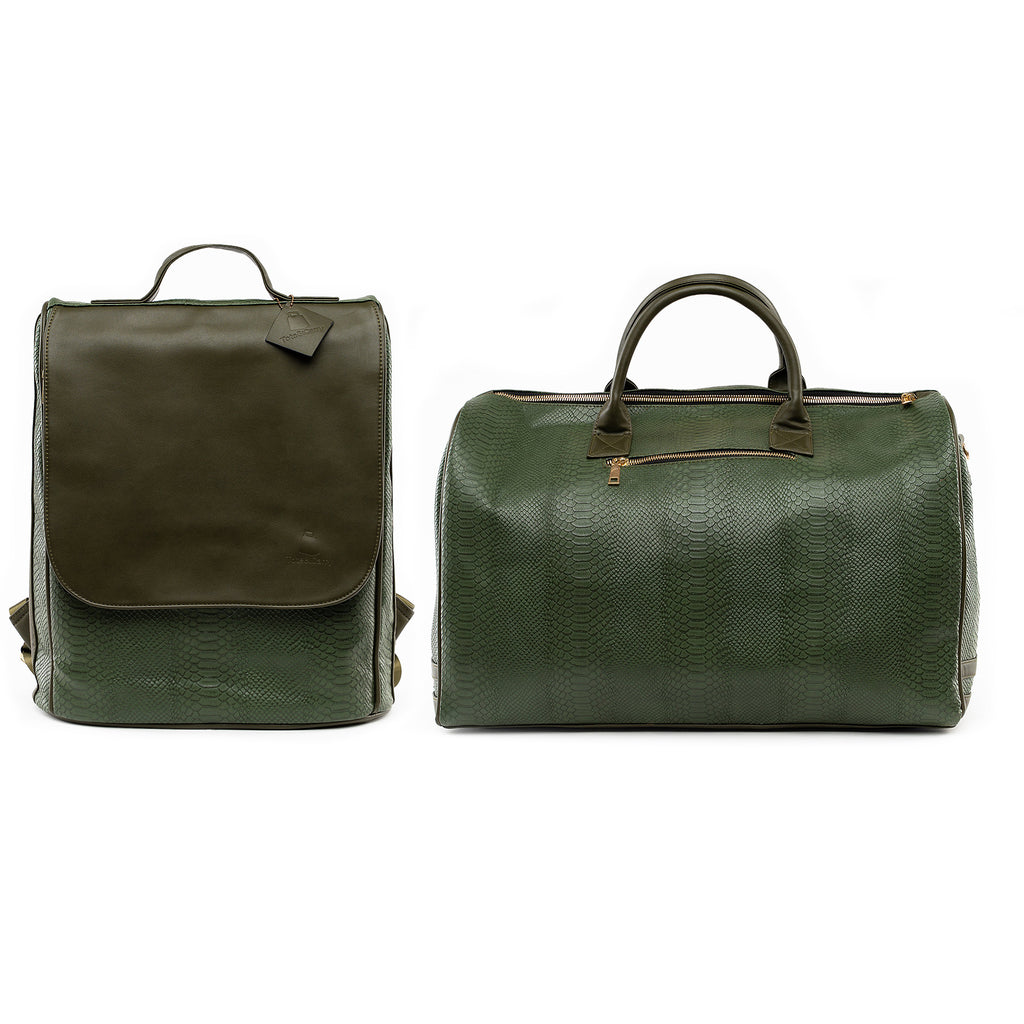 Olive Apollo Travel Set - Tote&Carry