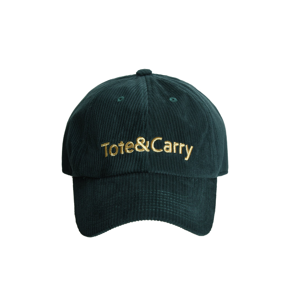 Tote&Carry Emerald Green Corduroy Dad Cap
