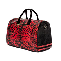 Red Apollo III Tiger Pony Fur Travel Set