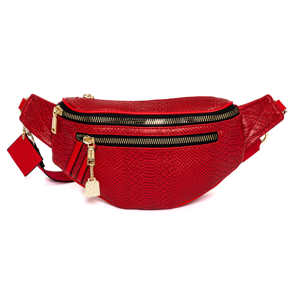 Red Apollo Fanny Pack