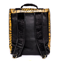 Brown Apollo III Tiger Pony Fur Travel Set