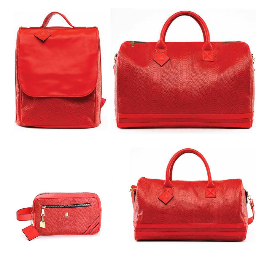 Red Apollo Travel Set