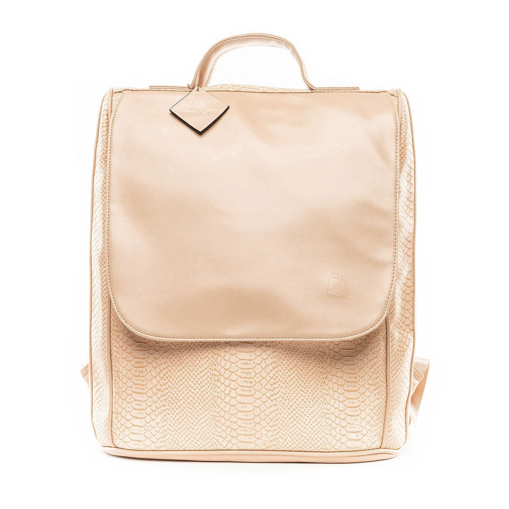Beige Apollo Backpack - Tote&Carry