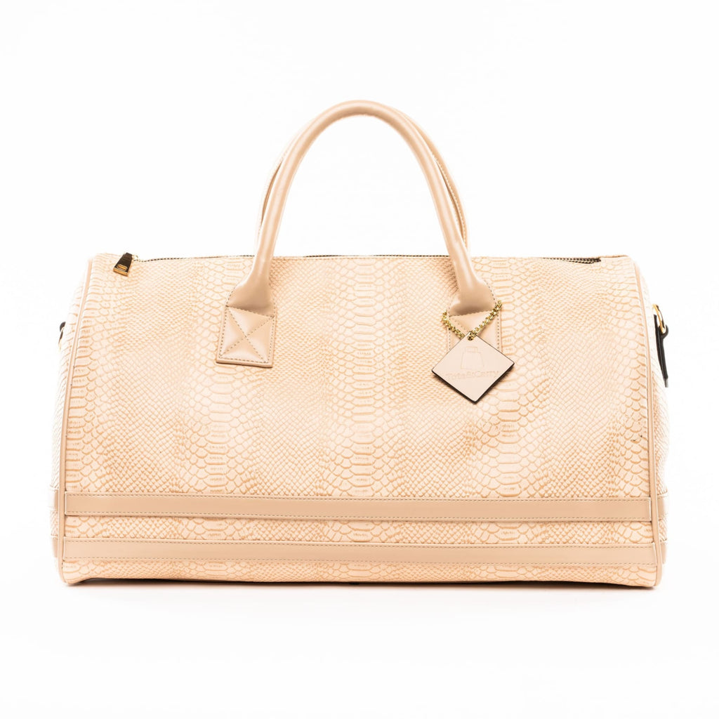 Beige Apollo Duffle - Reg - Weekend Bag Tote&Carry