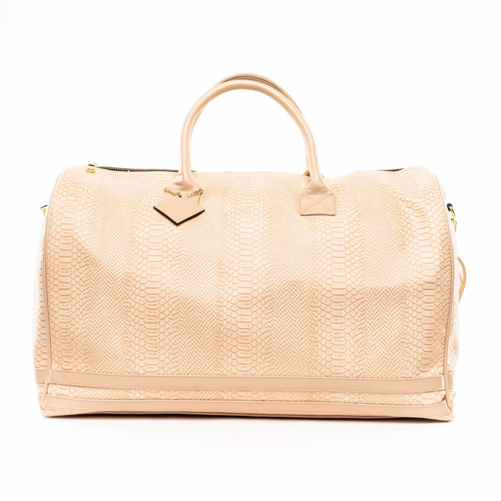 Beige Apollo Duffle - XL - Travel Bag Tote&Carry